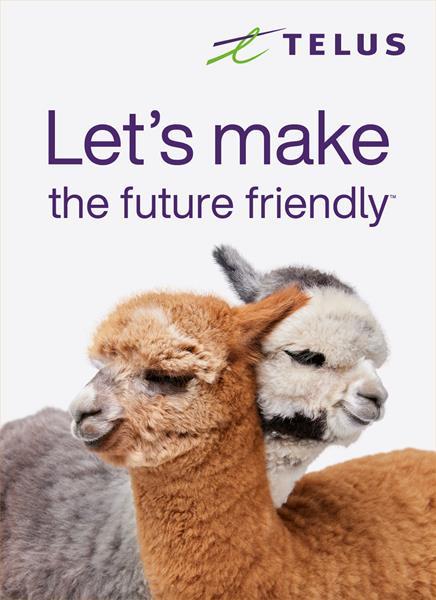 Telus let s make the future friendly