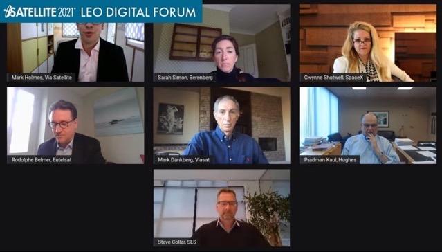 LEO digital forum spacex