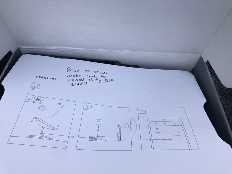 Bell starlink box 2