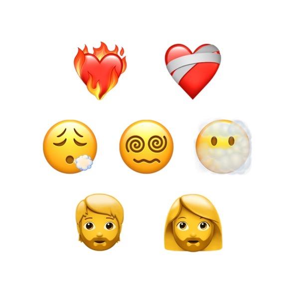New emojis in ios 14 5 emojipedia 1