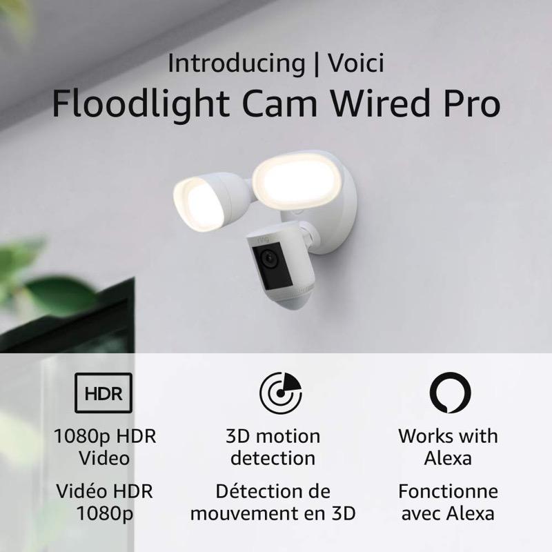 Ring floodlight pro