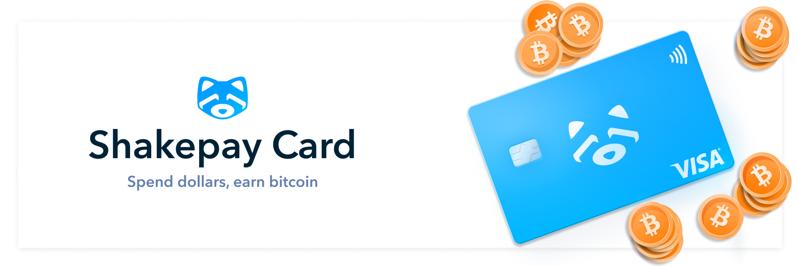 Shakepay card visa