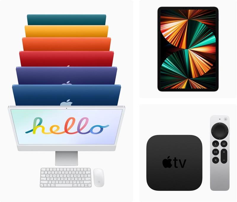 Apple iMac iPadPro AppleTV4K in stores Friday 051721 big jpg large