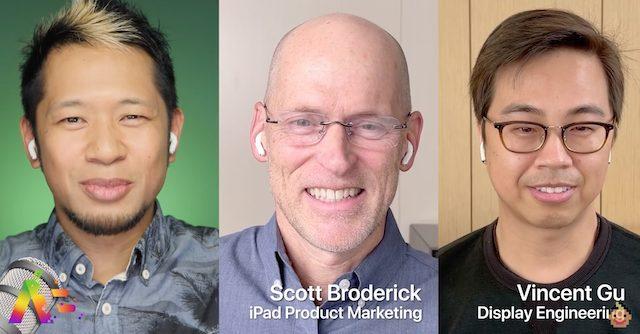 Apple execs interview