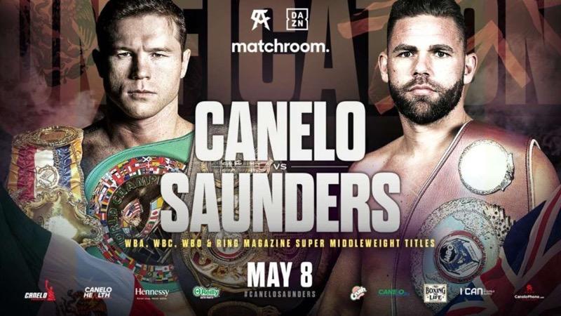 Canelo vs saunders stream live
