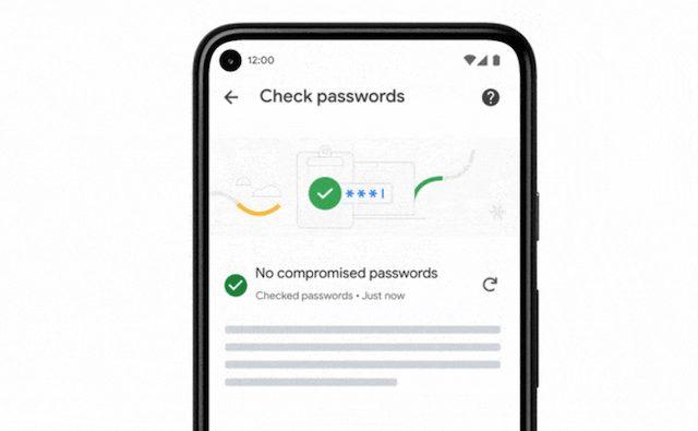 Chrome passwords