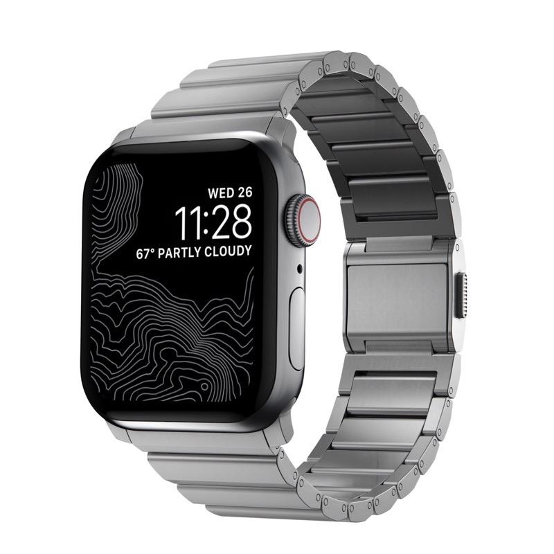 Nomad apple watch titanium