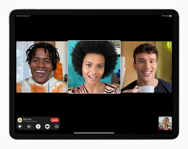 Apple iPadPro iPadOS15 FaceTime groupfacetime 4person 060721 big carosuel jpg large 2x