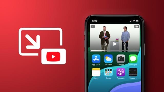 YouTube iOS Pip