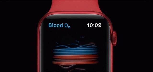 Apple watch oxygen