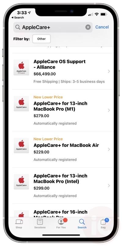 Applecare+ canada