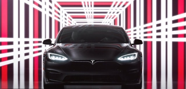 Model s plaid delivery event replay