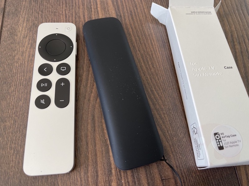 Elago apple tv remote airtag10