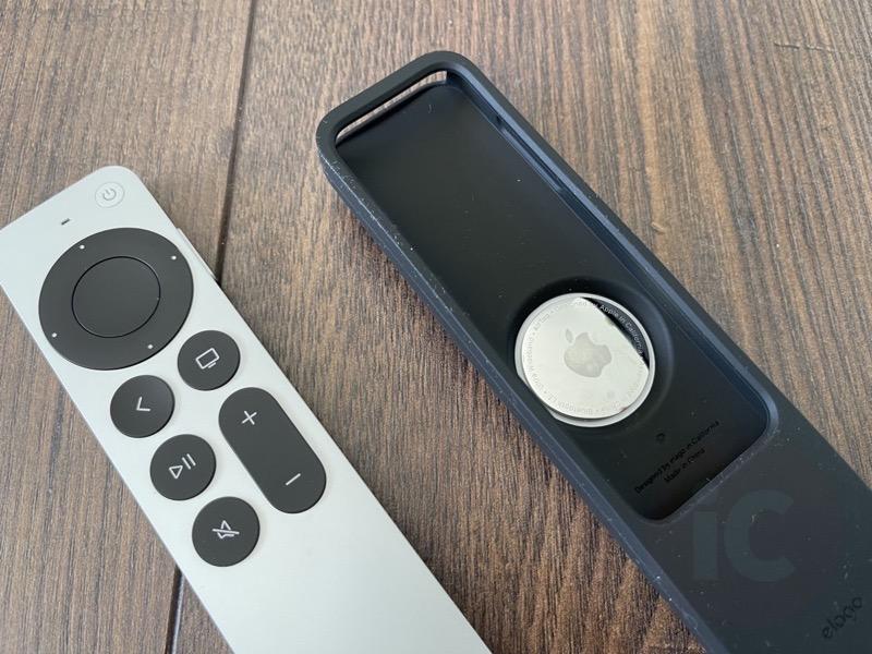 Elago apple tv remote airtag12