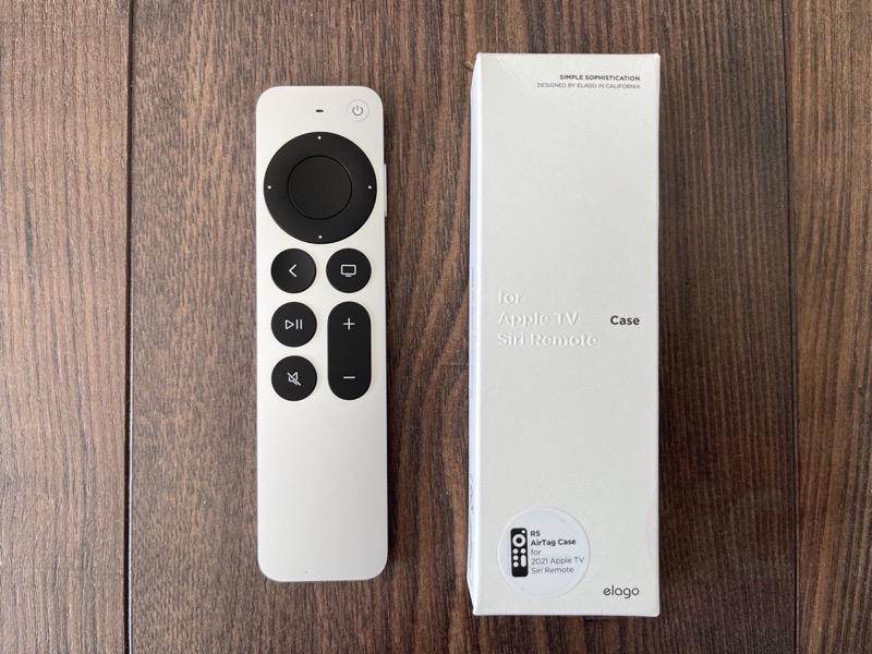 Elago apple tv remote airtag8