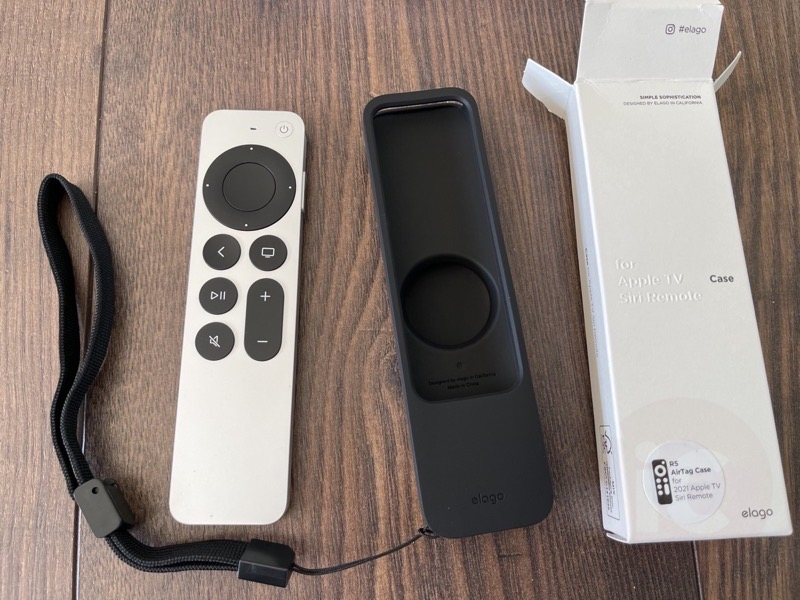 Elago apple tv remote airtag9