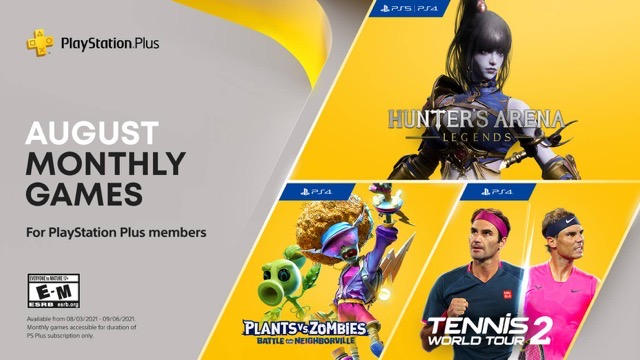 PlayStation Plus August 2021