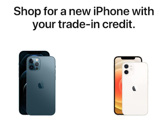 Apple trade in