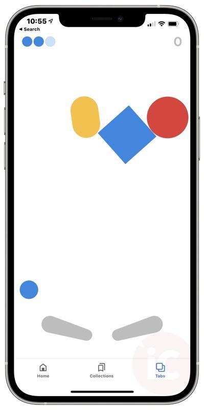 Google ios pinball