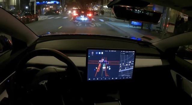 Tesla FSD beta chestnut street