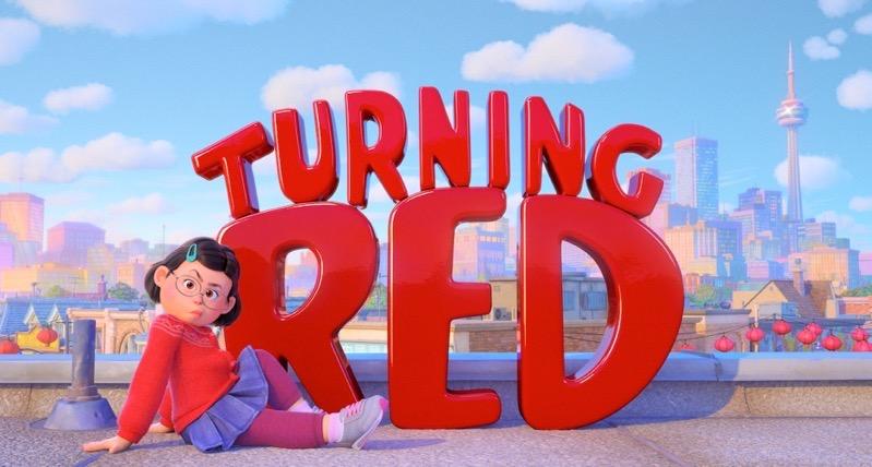 Turning red toronto