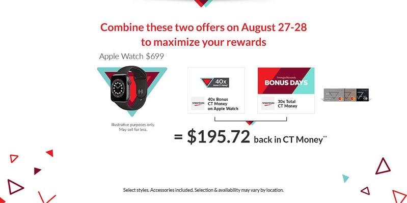Apple watch triangle rewards