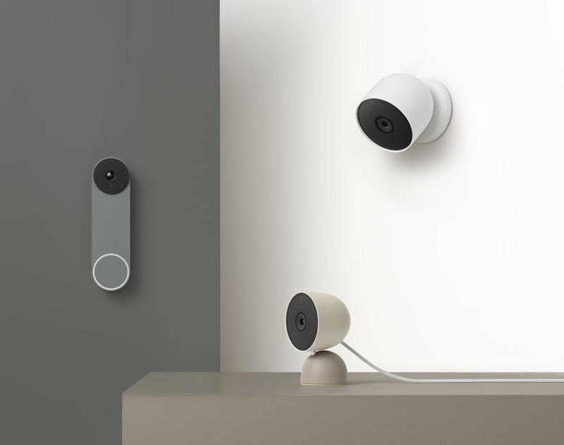 Google nest doorbells cam