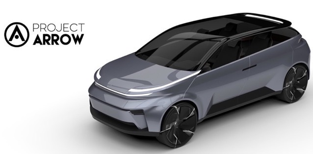 Project arrow electric vehicle