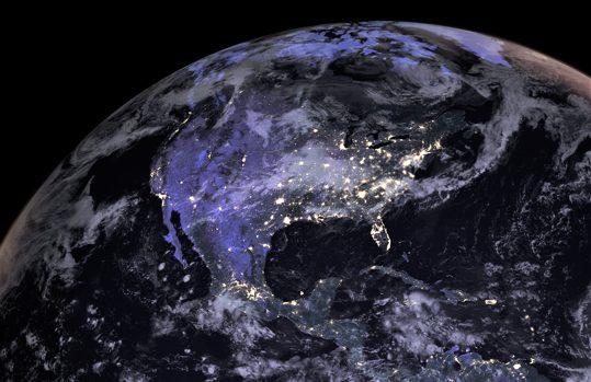 Satellite north america