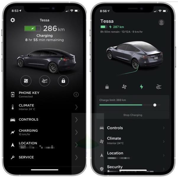 Tesla ios app 4 0