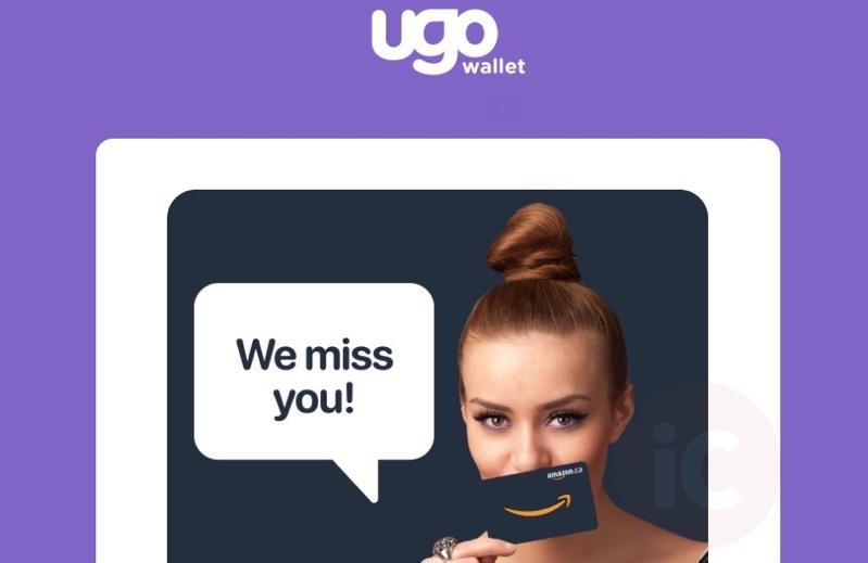 Ugo wallet amazon miss you