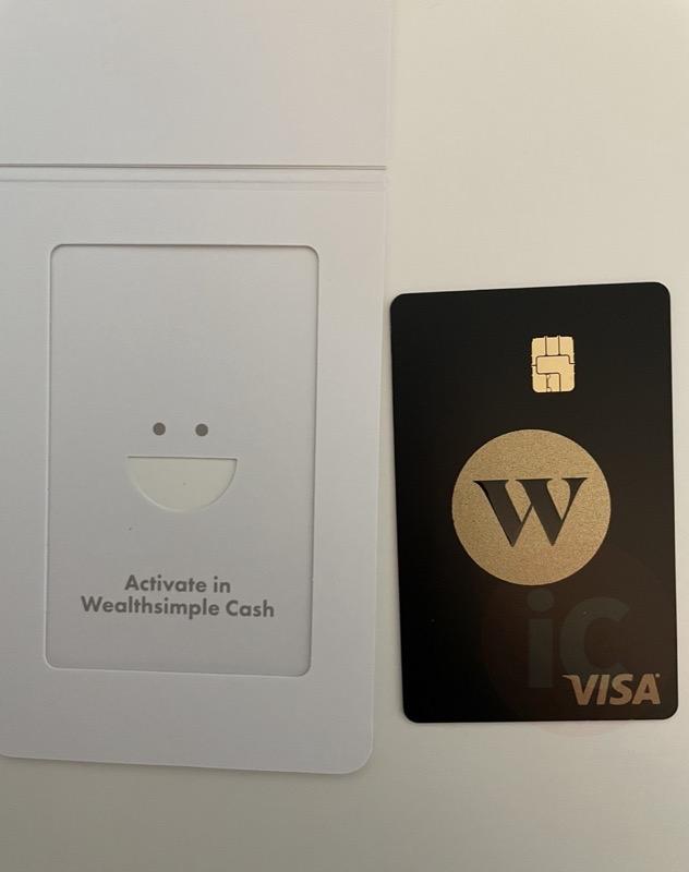 Wealthsimple cash card 2