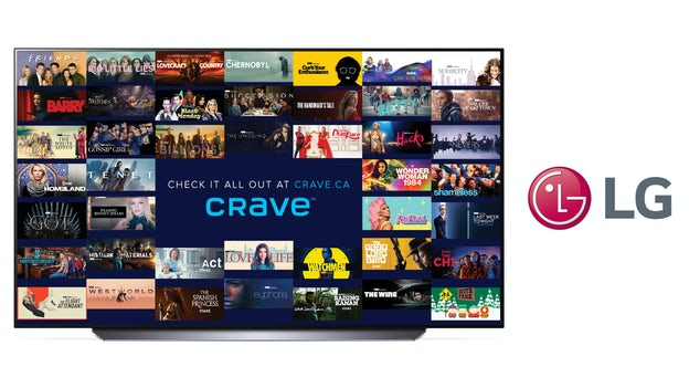 Crave LG tv