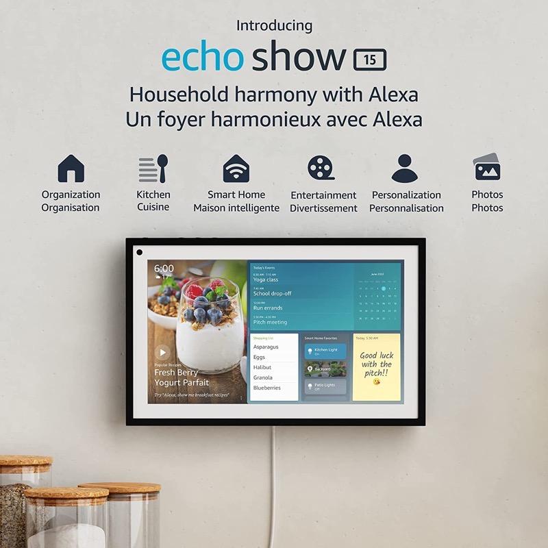 Echo show 15 canada