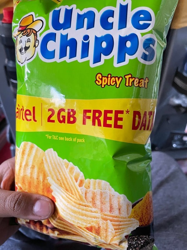 India 2gb data free chips