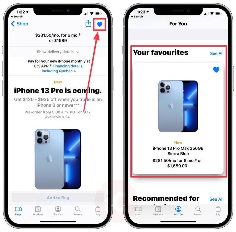 Iphone 13 pre order