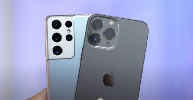 Iphone 13 vs s21