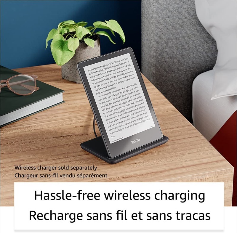 Kindle paperwhite wireless charging