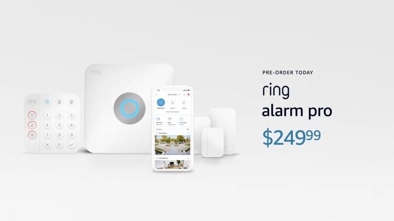 Ring alarm pro