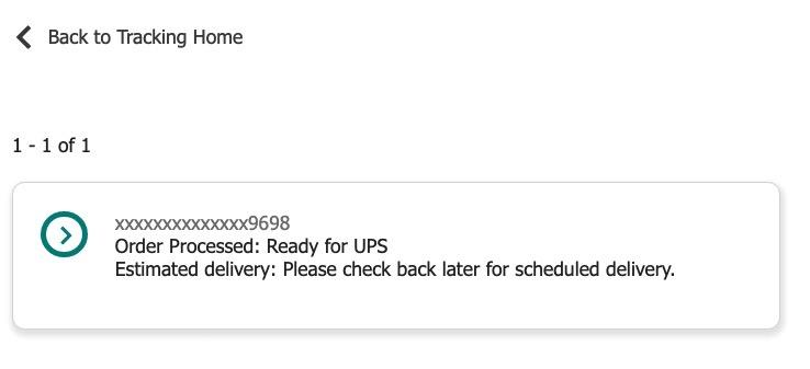 Ups tracking preparing to ship