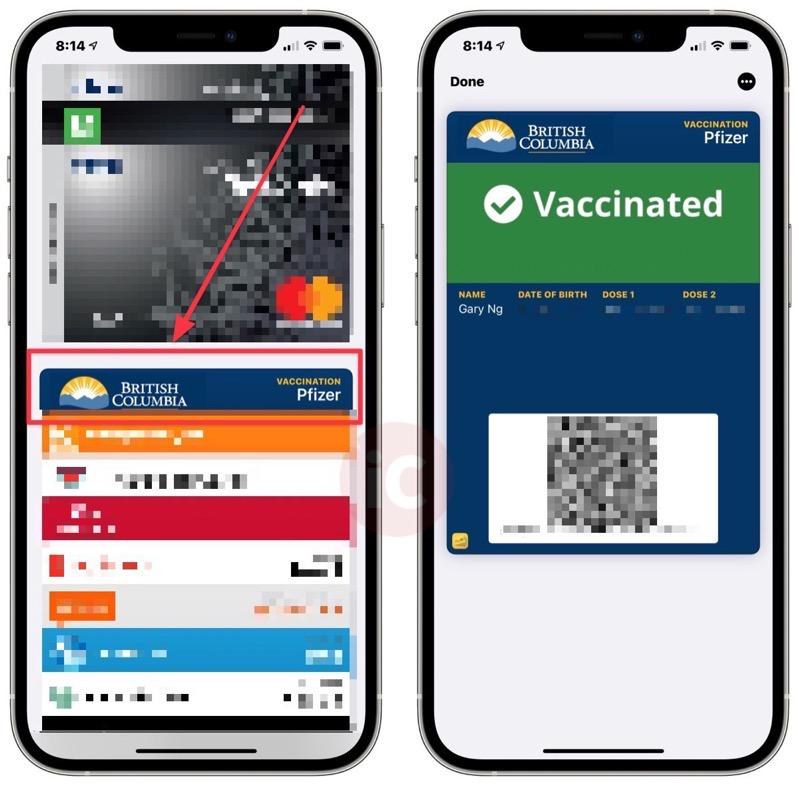 vaccine card wallet app.
