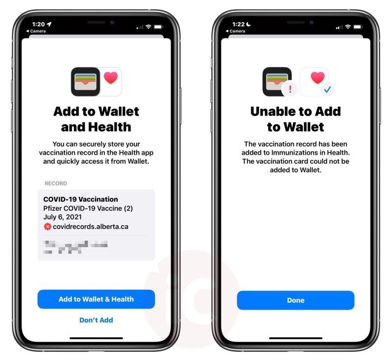 Alberta QR code health app