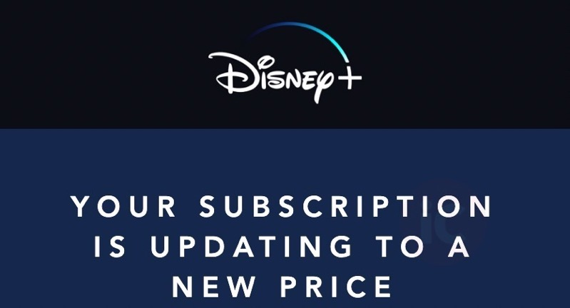 Disney+ price increase