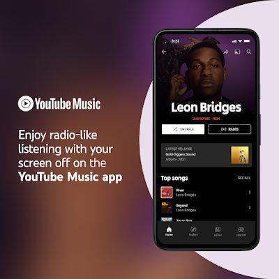 Youtube music background